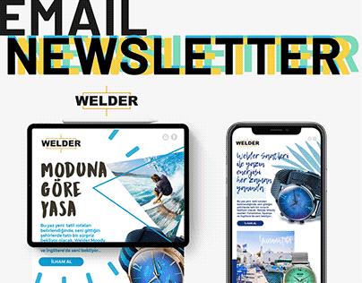 Welder Email Newsletter