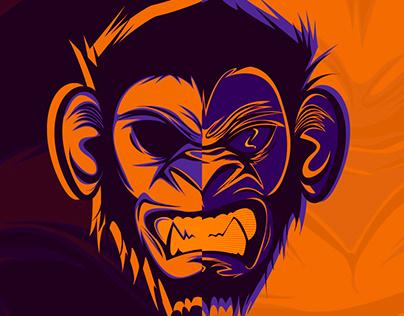 Illustration - Monkey