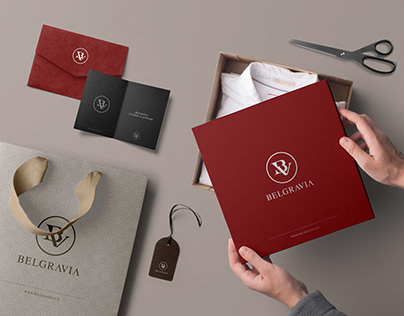Belgravia Fashion Branding Design