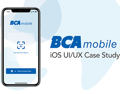 BCA Mobile UI/UX Redesign Case Study