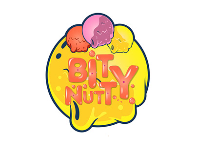 Branding Bity Nutty Logo Package design