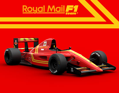 Royal Mail F1 Team 1990