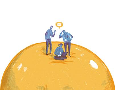 Investing Stock Illustrations
