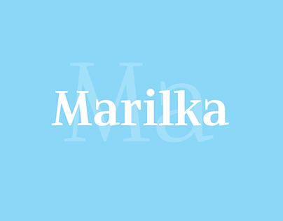 Marilka Text Typeface