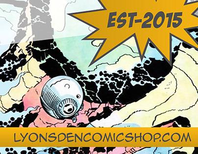 Lyonsden Comics Twitter Banner