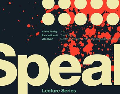 SPEAK: Poster Series