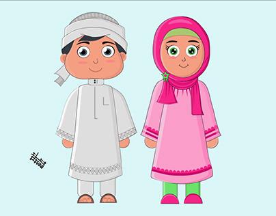 saudi characters
