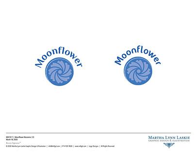 Moonflower Logo Design II