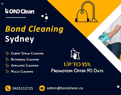 Bond Cleaning Services in Sydney.