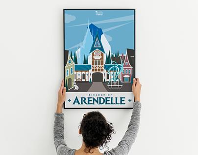 Kingdom of Arendelle - Frozen Land Poster