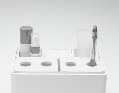 Versatile Bathroom Organizer