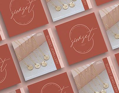 Sunset Jewellery Branding