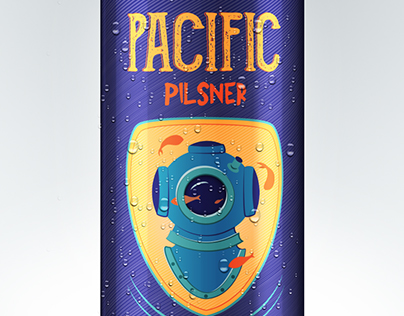 Pacific Pilsner Beer Design