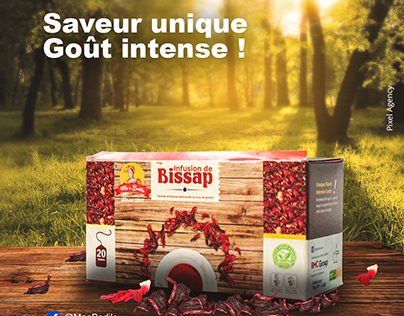 Commercial Infusion de bissap