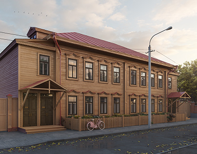 Re-Creation of historical house