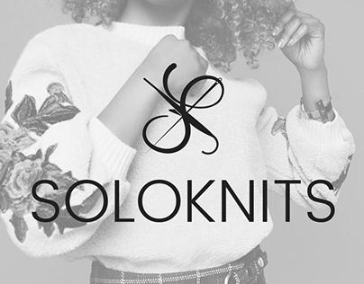 Soloknits Logo Design
