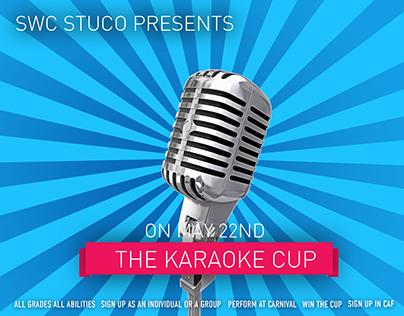 SWC Karaoke Cup Poster