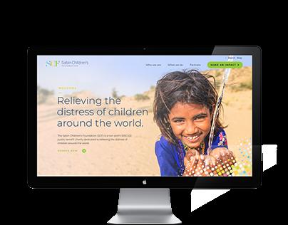 Sabin Children's Foundation Website