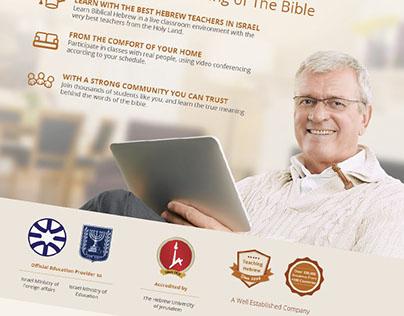 eTeacher Landing Pages Research