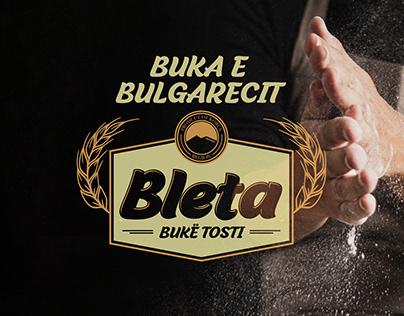 """Bukë Tosti """"Bleta""""-Logo & Packaging"""