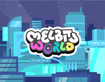 Melbits World - Artwork & animation
