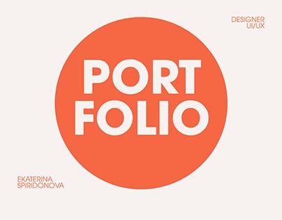 Website Portfolio for UI/UX Designer