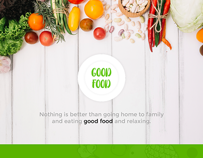 Good Food App (Product Design)