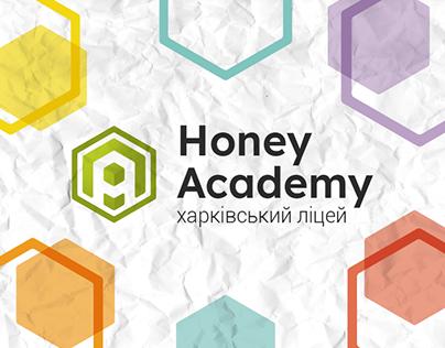 Honey Academy | Logo for private liceum