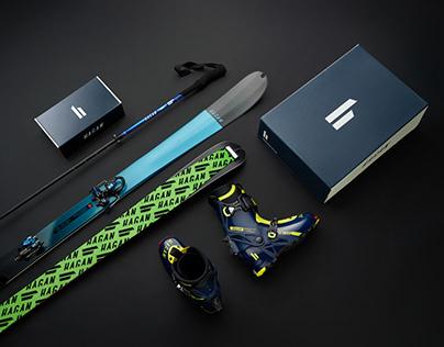 Neuer Markenauftriff für HAGAN Ski