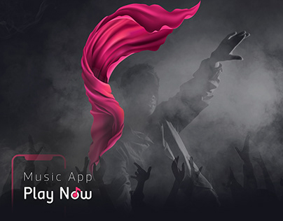 UI/UX Design for Play Now Music Application