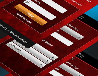 Mobile UI( Webcash Payment Gateway )