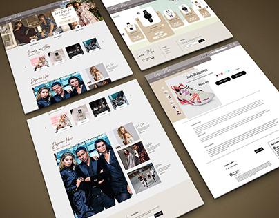 Cara Mia- Fashion E-Commerce UI Design
