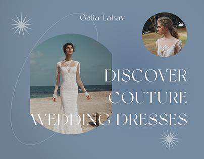 Galia Lahav | e-store redesign