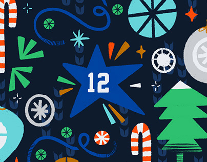 Happy Holidays from the Seahawks!