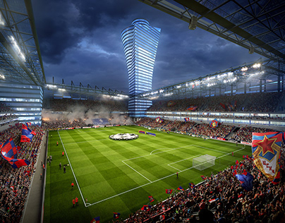 CSKA Stadium – 3D animation and visuals