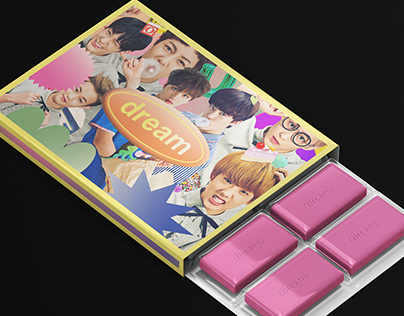 DREAM : Chewing Gum Package Design