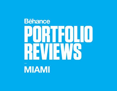 Behance Portfolio Reviews Miami