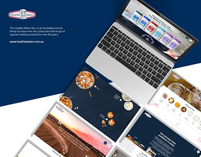 Website Design- The Healthy Baker