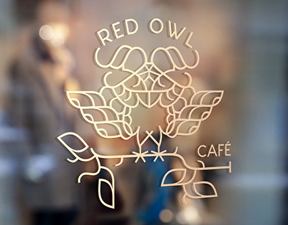 Red Owl Cafe Concept