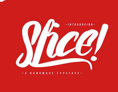 Slice! Font