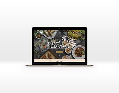Rasa Nusantara website