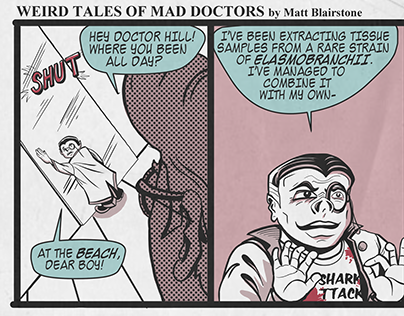 Weird Tales of Mad Doctors (comic strip)