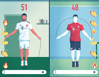 Illustrations for FC Bayern Munich