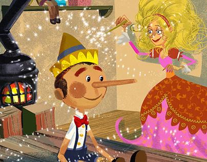 Pinocho childish story