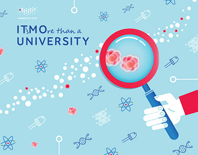 Poster for ITMO