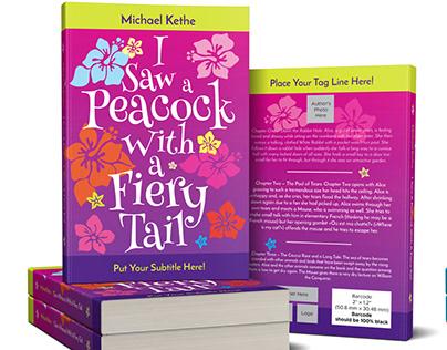 PEACOCK Customizable Book Cover Template