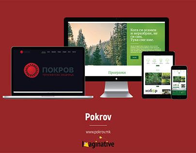 Web Design & Development - Pokrov.mk | Imaginative