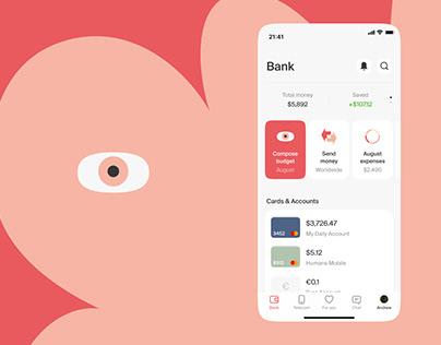 Humane. Fintech Mobile Application
