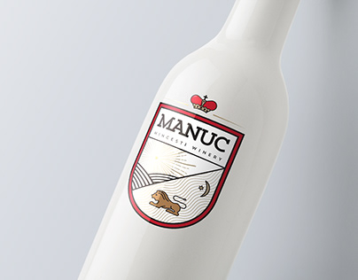 Manuc Wine Identity Concept