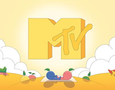 HAPPY- MTV Artist Ident